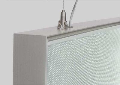 Hanging Hardware on the Light Box