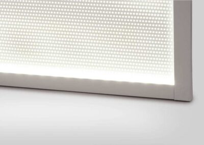 LED on the Side of a Panel