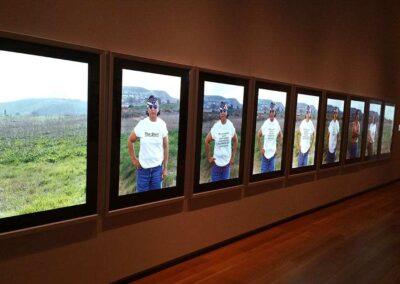 Snap Frames in Art Gallery of Ontario