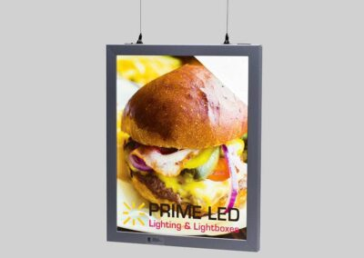 Hanging Double Sided Snap Frame